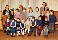 Llanfihangel y Creuddyn School 1981-82