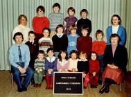 Llanfihangel y Creuddyn School 1983
