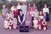 Llanfihangel y Creuddyn School 1985