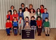 Llanfihangel y Creuddyn School 1980