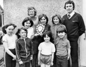 Llanfihangel y Creuddyn School 1981