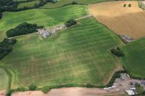 FAIRWATER FARM, POSSIBLE ROMAN VILLA