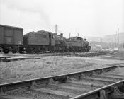 Double-headed Goods at Aberystwyth, 15/16 Jun 1964