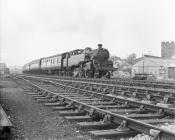 2-6-4T 80136 departing Aberystwyth Station, 15...