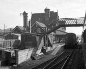 Machynlleth Station, 1964/06/17
