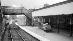 Newtown Station, Powys, 1964/06/17
