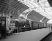 4-6-0 7023 at Paddington, 3 Oct 1964