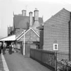 Machynlleth Station, 1964/10/03