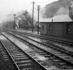 Machynlleth Station, 1964/12/18