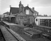 Westbury Station, Shropshire, 1965/01/10