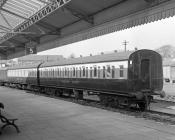 Camping Coaches in Aberystwyth Station, Jan/Feb...