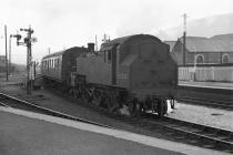 2-6-2T 80020 at Aberystwyth Station, 15/16 Jun...