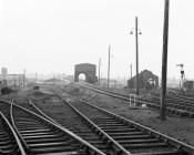 Aberystwyth MPD, almost deserted, Sep/Dec 1966