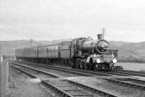 4-6-0 7802 + Train Arriving at Aberystwyth, 9...