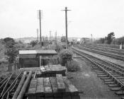 Distant View of Aberystwyth MPD, 9 Sep 1964