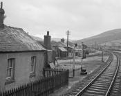 Talerddig Station, 10 Jan 1965