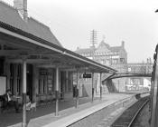 Newtown Station, Powys, 1964/10/03