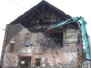 Maerdy Workingmen's Hall, demolition in 2008