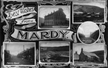 Postcard from Maerdy circa 1924
