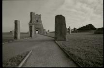 Aberystwyth Castle, January 2015