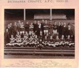 Bethania Chapel Dowlais A.F.C 1920-21