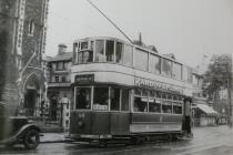 Cardiff Corporation Transport Tram