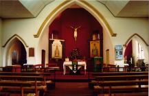 St Peter's Sanctuary and side chapels...