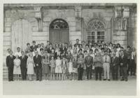 Laugharne Township French Exchange 1966