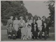 Grŵp Drama Talacharn tua 1955