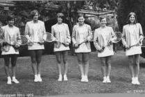 1st Tennis Team, Hafodunos Hall Boarding School