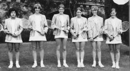 Hafodunos Hall Boarding School Tennis Team