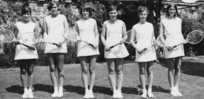 Hafodunos Hall Boarding School Tennis Players