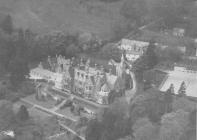 Hafodunos Hall Boarding School from the Air
