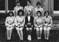 Hafodunos Hall Boarding School Netball Team 1963