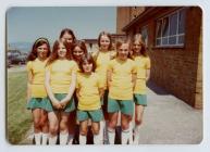 Cwm Glas Primary School, Swansea, Netball Team,...