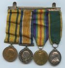 Medalau WW1 perthyn i Bryn Powell, Iwmyn Morgannwg