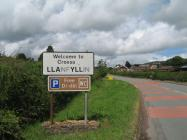 Welsh Place-names: Llanfyllin