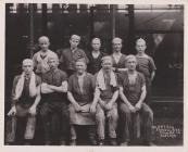 Welsh workers in an American tin mill