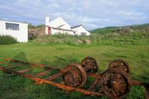 Skokholm Island -  horse-drawn railway artefacts
