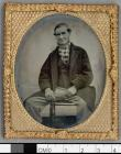 Elderly man wearing a checked muffler (4152535129)