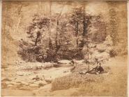 Willy Dillwyn Llewelyn fishing at River...