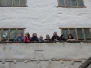 Visit by Conwy Youth Club to Plas Mawr, Conwy....