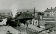 Llantrisant Railway Station, Pontyclun