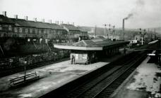 Llantrisant Railway Station (Pontyclun), view...