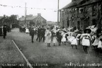 Coronation Procession, Pontyclun, June 1911