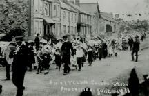 Communal Procession at Pontyclun, June 1911