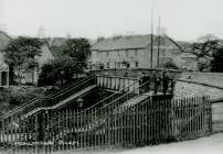 The Old Footbridge over the Railway at...