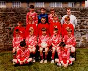 Pontyclun Primary School Football Team, 1986