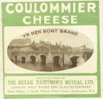 Advert for Yr Hen Bont Coulommier cheese,...
