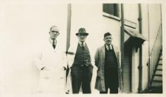 Staff at Pont Llanio MMB depot